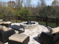 Raised Patio Deck Ideas - Silca System / StoneDeks