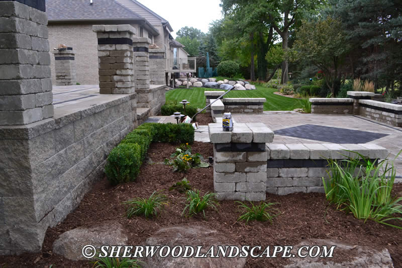 Landscape Design Project in Shelby Township, Michigan