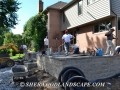 Brick Paver Patio and Landscape Design in Shelby Township, Michigan