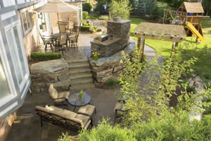 Landscape and Design - Sherwood Landscape Construction, Romeo, Michigan (Macomb County)
