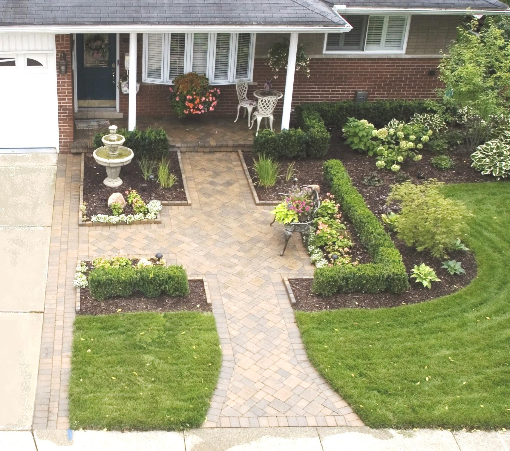 Landscape design installation macomb county landascaping for Home lawn design