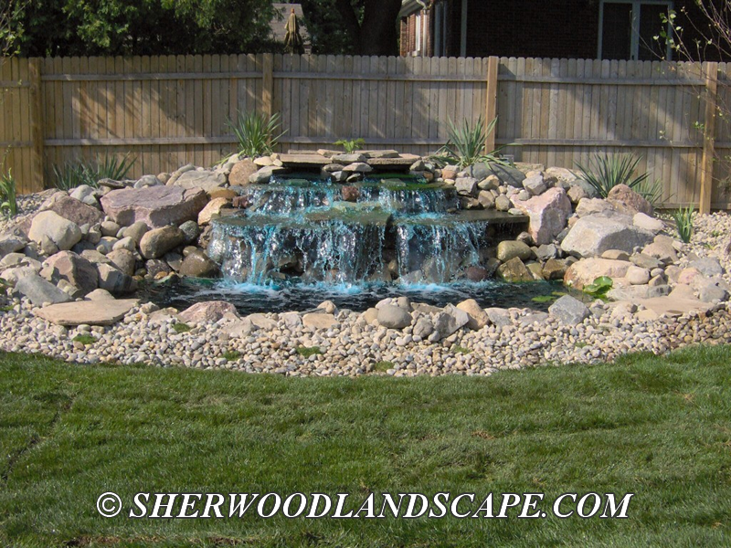 Water features macomb county landascaping Home water features