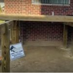 How To Build An Elevated Deck With Brick Pavers in Macomb County, Michigan