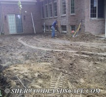 During Brickpaving Construction 2