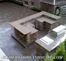 Outdoor Kitchen Construction 3