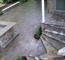 Outdoor Oasis Natural Stone Steps