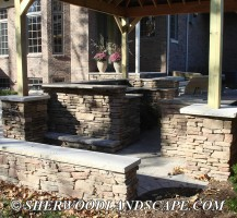 Outdoor Kitchen Almost Complete 3