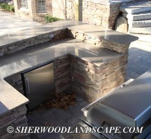 Outdoor Kitchen Almost Complete 4