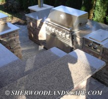Outdoor Kitchen Almost Complete 5