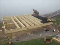 Elevated Stone Dock With Silca System / StoneDeks