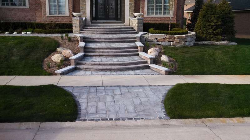 brick-paver-steps-porch-stone-retaining-wall