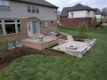 brick-paver-patio-pillars-stone-steps-sod-plantings