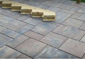 Brick Paver Elevated Deck Design Shelby Township MI